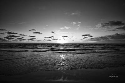 Sunset Photograph - Pure Muskegon - Black And White by Joe Gee
