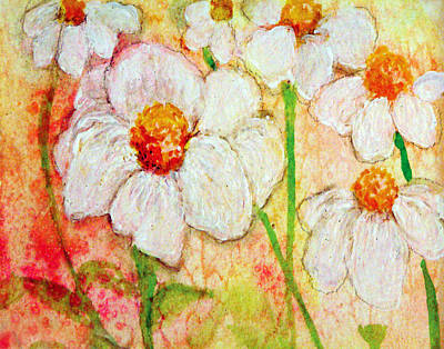 Purity Of White Flowers Art Print by Ashleigh Dyan Bayer