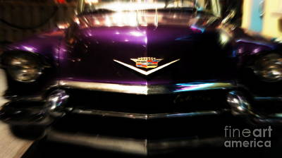 Photograph - Purple Cadillac by J Kinion