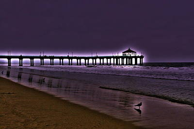 Photograph - Purple Dawn by Richard Omura