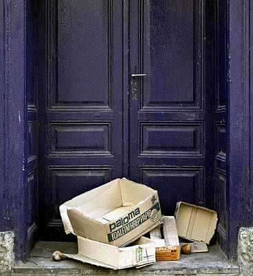 Photograph - Purple Door. Belgrade. Serbia by Juan Carlos Ferro Duque