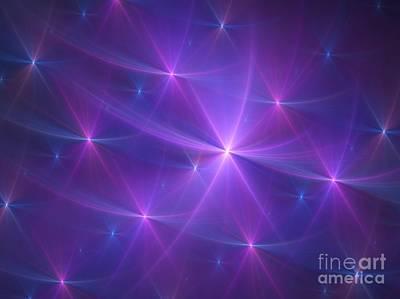 Digital Art - Purple Dreams by Yali Shi
