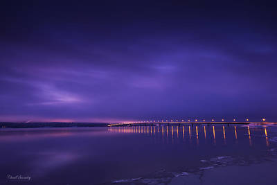 Mj Photograph - Purple Hazes  by Chad Bromley