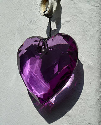 Purple Heart. Art Print