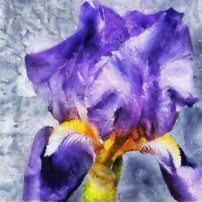 Painting - Purple Iris I by Jai Johnson