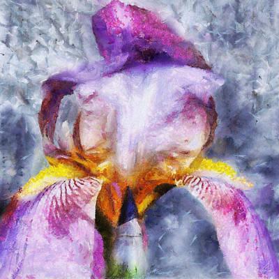 Painting - Purple Iris II by Jai Johnson