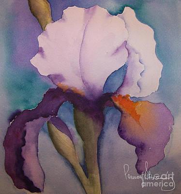 Purple Iris Art Print