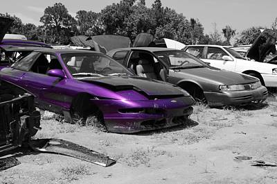 Photograph - Purple Junk by Lynda Dawson-Youngclaus