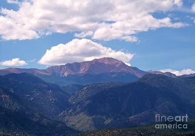 Photograph - Purple Mountains Majesty by Donna Parlow