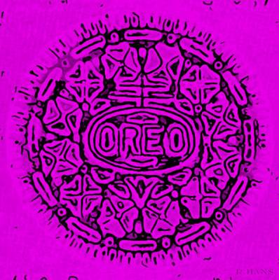 Photograph - Purple Oreo by Rob Hans