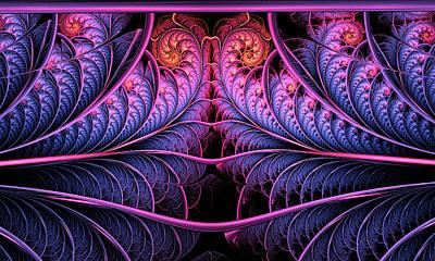 Purple Panache Art Print