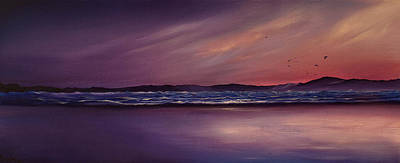 Painting - Purple Passion by Jan Farthing