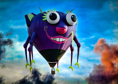 Purple People Eater Art Print by Bob Orsillo