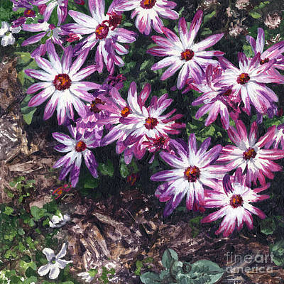 Painting - Purple Smiles by Lynette Cook