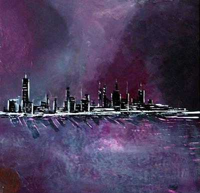 Purple Storm Art Print by Rob Heath