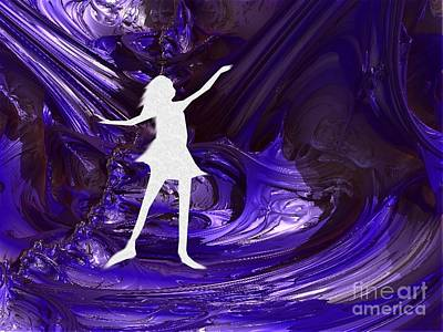 Digital Art - Purple Taffy by Vicki Lynn Sodora