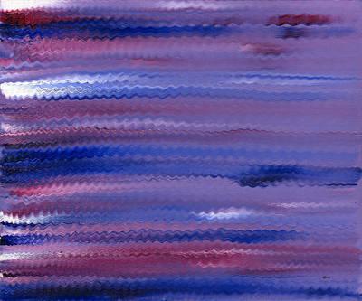 Purple Waves Original by Hakon Soreide