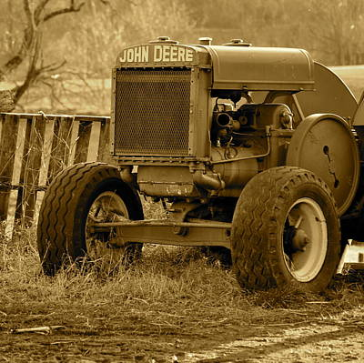 Photograph - Put Out But Not Abandoned In Sepia by JD Grimes