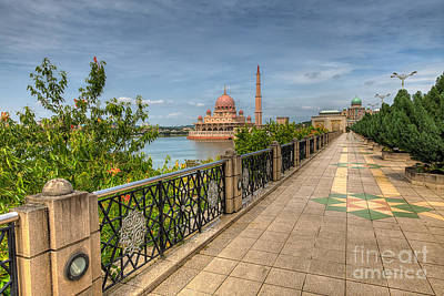 Photograph - Putrajaya Lake by Adrian Evans