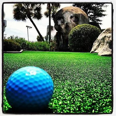 Sports Wall Art - Photograph - Putt Putt  by Lea Ward