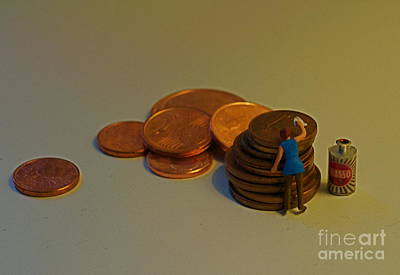 Photograph - Putting The Shine Back On The Euro by Louise Fahy