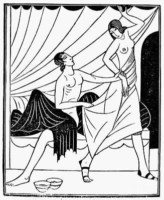Pygmalion And Galatea Art Print