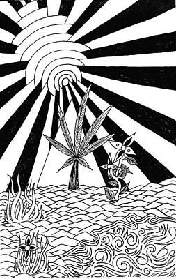 Pyramid Art Print by Andrew Padula