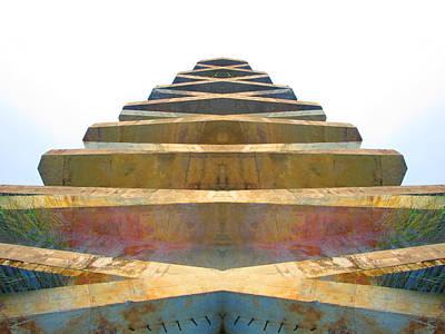 Pyramid Art Print by Michele Caporaso