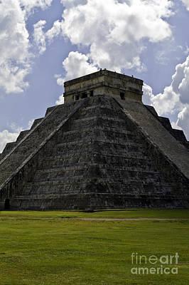Photograph - Pyramid  Of Kukulkan  by Ken Frischkorn