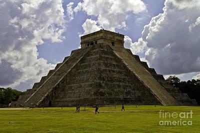 Photograph - Pyramid Of Kukulkan Two by Ken Frischkorn