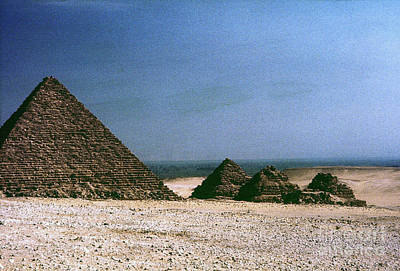 Photograph - Pyramid Of Mykerinos by Granger