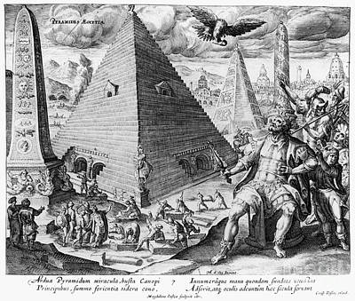 Photograph - Pyramids, 17th Century by Granger