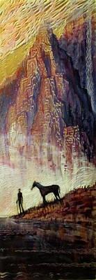 Pyrenees Dream Art Print by Michael Langenheim
