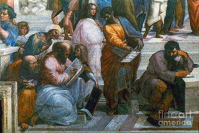 Photograph - Pythagoras (569-475 B.c.) by Granger