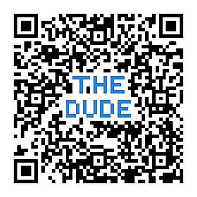 Digital Art - Qr The Dude by Tom Roderick