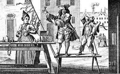 Charlatan Photograph - Quackery, 18th Century by Science Source