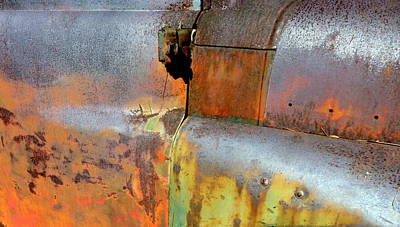 Rusty Photograph - Quadrants by Carla Parris