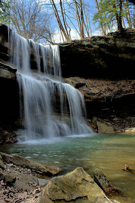 Quakertown Falls Art Print by Michelle Joseph-Long
