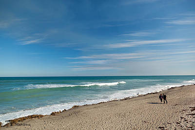 Ocean Photograph - Quality Time by Michelle Wiarda-Constantine
