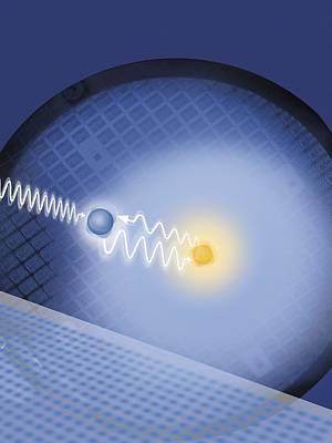 Lawrence University Photograph - Quantum Spin Computing, Artwork by Lawrence Berkeley National Laboratoryflavio Robles