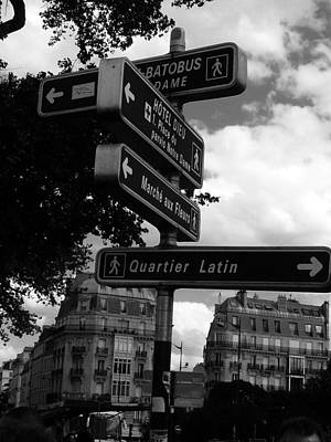 Photograph - Quartier Latin by Rdr Creative