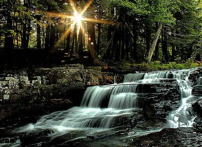 Photograph - Quartzite Falls by Matthew Winn