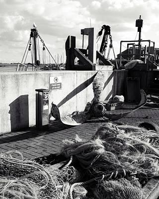 Angling Photograph - Quayside by Sharon Lisa Clarke