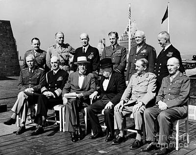 Quebec Conference, 1944 Print by Granger