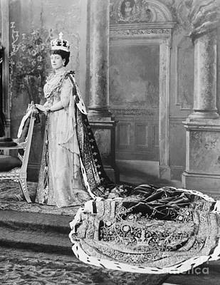 Alexandra Photograph - Queen Alexandra, 1902 by Omikron