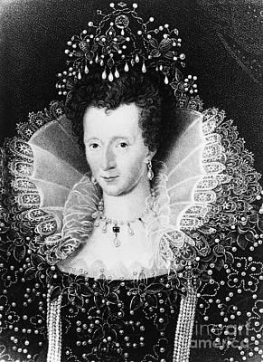 Queen Elizabeth I Print by Omikron
