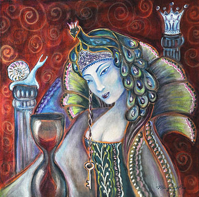 Queen Of Her Own Heart Art Print by Margaret Eve