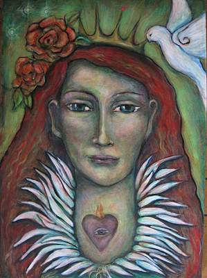 Queen Of My Own Heart Art Print by Shoshanna Lightsmith