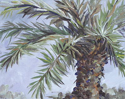 Painting - Queen Palm by Sandy Tracey