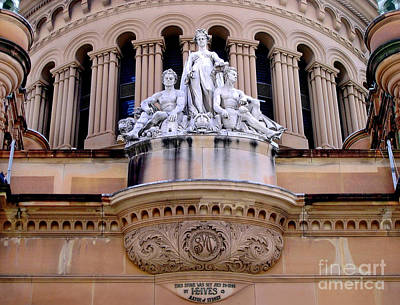 Photograph - Queen Victoria Building - Sydney by Kaye Menner